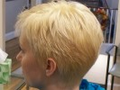 highlights lowlights blonde dark ash color bob haircut